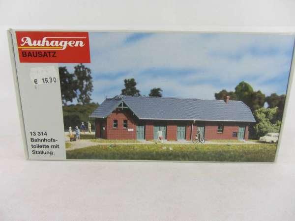 Auhagen 13314 TT-Bausatz Bahnhofstoilette neu und mit Verpackung