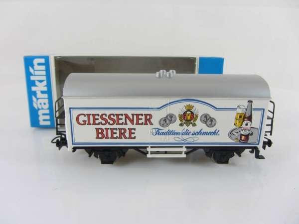 Märklin Basis 4415 Bierwagen Giessener Biere Sondermodell neuwertig mit OVP