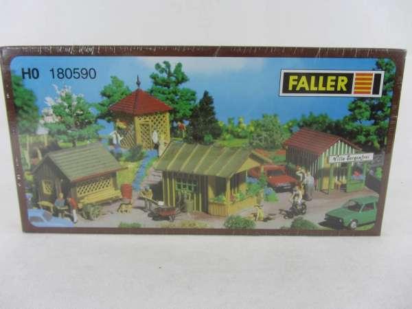 Faller 180590 Bausatz 1:87 HO Hütten neu mit OVP
