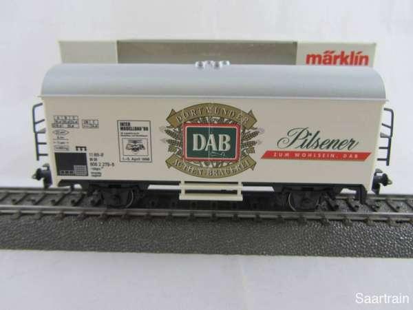 Märklin Basis 4415 Bierwagen Dortmunder DAB Sondermodell Neu mit Verpackung