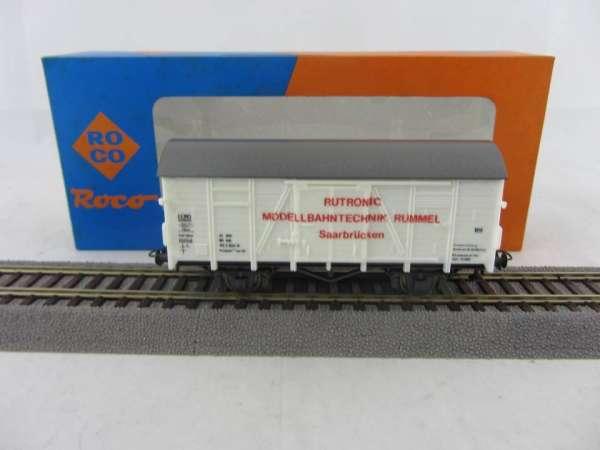 ROCO 4305 W Werbewagen Fa. Rummel Saarbrücken, neu und mit OVP