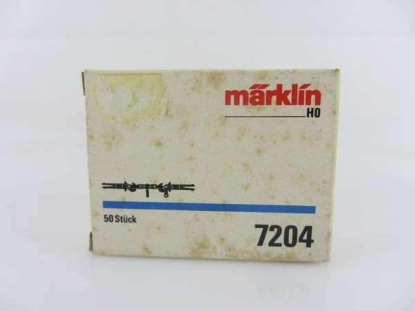 Märklin 7204 Schraubenkupplungen 50 Stück, neuwertig und originalverpackt