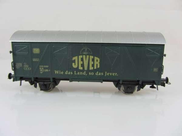 Basis ROCO Bierwagen Tonnendach mit Beschriftung Jever Pilsener, ohne Verpackung