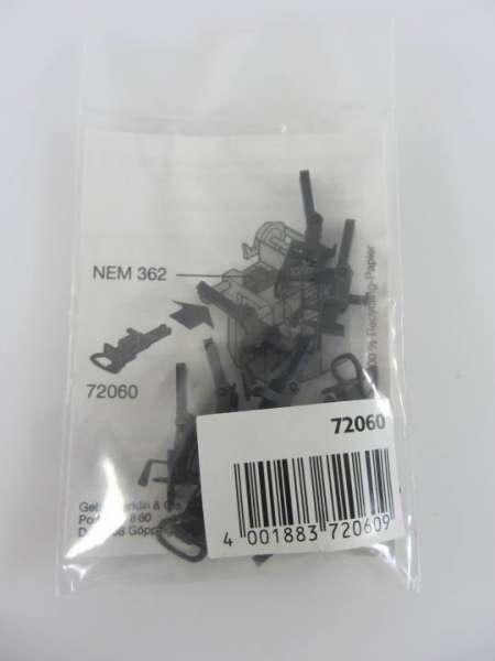 Märklin 72060 Relexkupplung, 10 Stück, neuwertig und originalverpackt