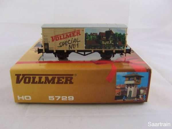ROCO G10 Werbewagen Vollmer Special No 1 neuwertig mit Verpackung