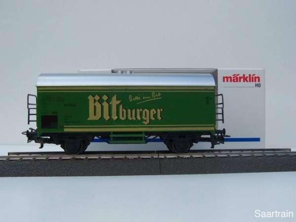 Märklin Basis 4415 Bierwagen Bitburger grün Sondermodell Neu mit Verpackung
