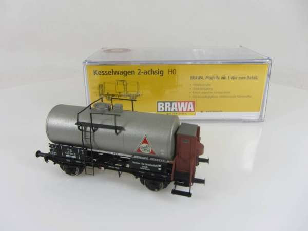 BRAWA 48875 2-achsiger Kesselwagen DEUTZ Sonderserie Neuwertig und mit OVP