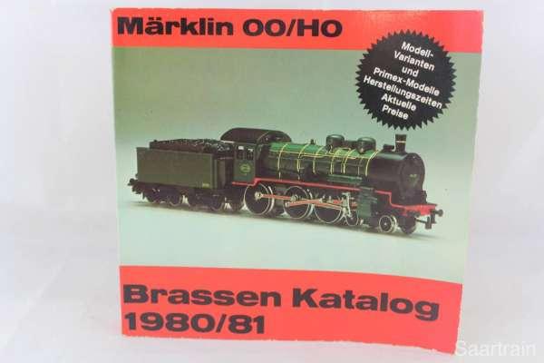 "Eisenbahnbuch ""Brassen-Katalog 1980/81 für Märklin 00/HO"