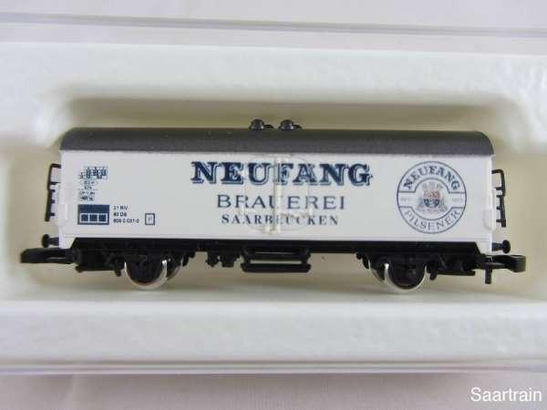 8600 Bierwagen Sondermodell Neufang Brauerei Saarbrücken weiss mit Verpackung