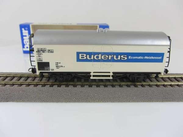 Baur HO Kühlwagen Sonderwagen Buderus mit Verpackung