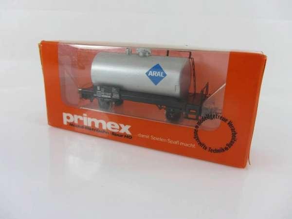 Primex 4580 Kesselwagen Aral mit Originalkarton, neuwertig