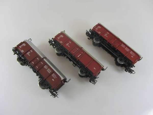 Märklin 4619 Schiebedachwagen (3 Stück) gebraucht, ohne Verpackung