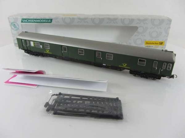 Sachsenmodelle 74696 Postwagen DBP Ep. III neuwertig mit Verpackung