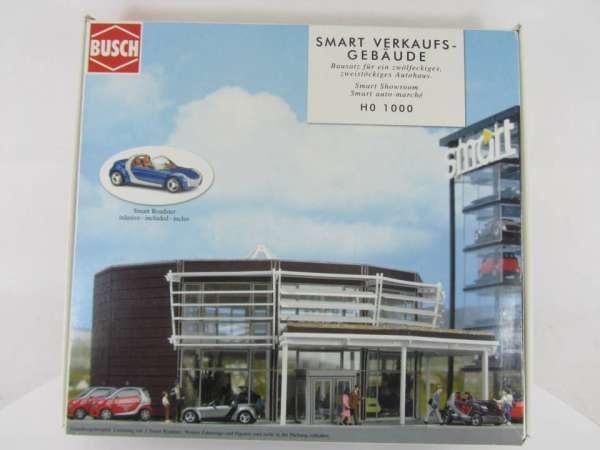 Busch HO 1000 Smart-Verkaufsgebäude 1:87 neu mit OVP
