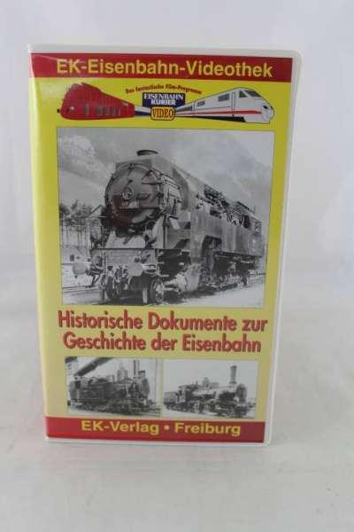 Eisenbahn Video, Historische Dokumente der Eisenbahn, EK-Verlag