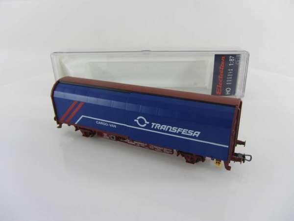 Electrotren 1730K Schiebeplanewagen TRANSFESA der RENFE, mit OVP