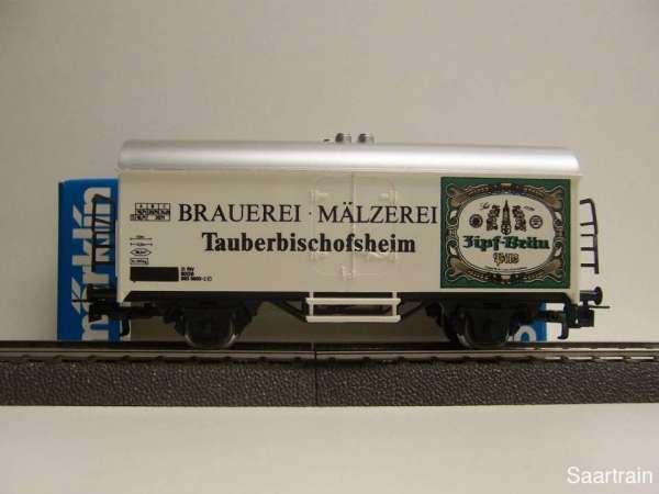 Märklin Basis 4415 Bierwagen Zipf Bräu Tauberbischofsheim SOMO neu und mit OVP