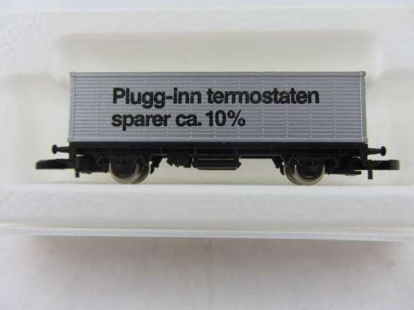 Märklin 8615 Containerwagen Sondermodell SIEMENS Schweden Plugg-Inn mit Box, Rarität
