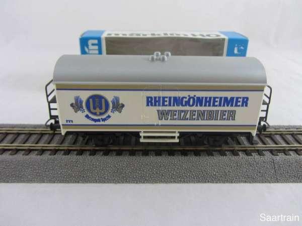 Märklin Basis 4415 Bierwagen Rheingönnheimer Weizenbier Sondermodell mit OVP