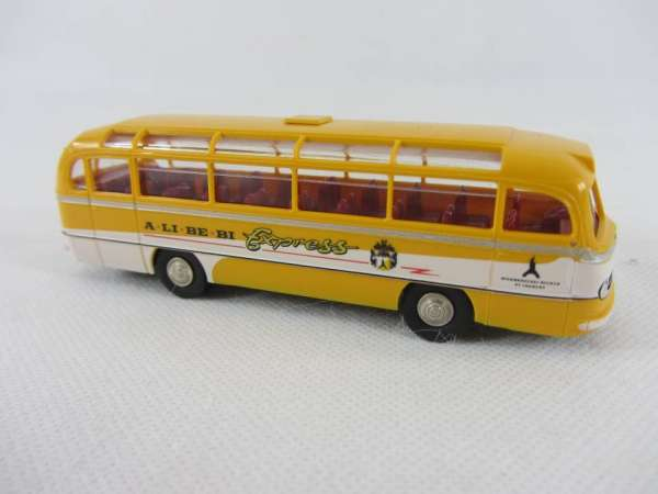 Brekina 1:87 MB 0321 A-Li-Be-Bi Bus Becker Bier