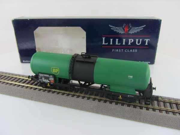 Liliput L225811 Kesselwagen der DB grün BP, sehr guter Zustand mit OVP