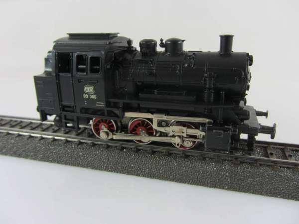 Märklin 3000 Dampflok Br 89 006 der DB in schwarz gebraucht