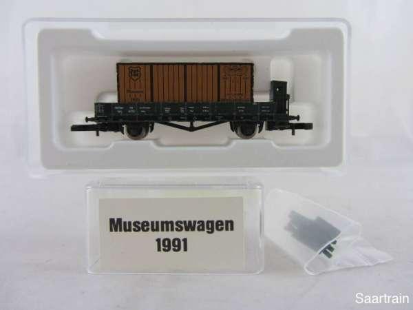 Märklin Spur Z Museumswagen 1991 Menschenflug neuwertig mit Originalverpackung