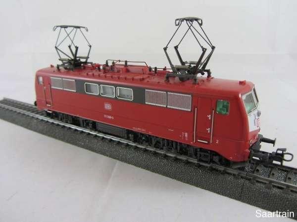 Märklin Elektrolok Baureihe 111 068 3 der DB in rot ohne Verpackung guter Zust