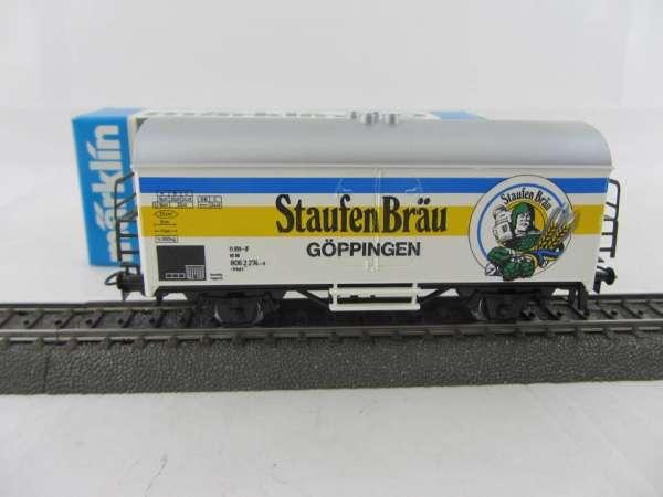 Märklin Basis 4415 Bierwagen Staufen-Bräu Göppingen Sondermodell, neu und mit OVP