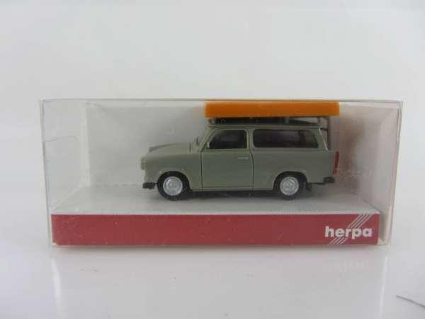 HERPA 24181 1:87 Trabant 601 grau neu mit OVP