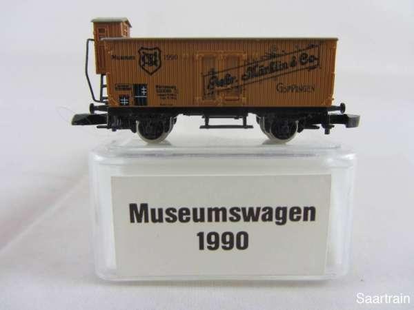 Märklin Spur Z Museumswagen 1990 Gebr. Märklin neuwertig m. Originalverpackung