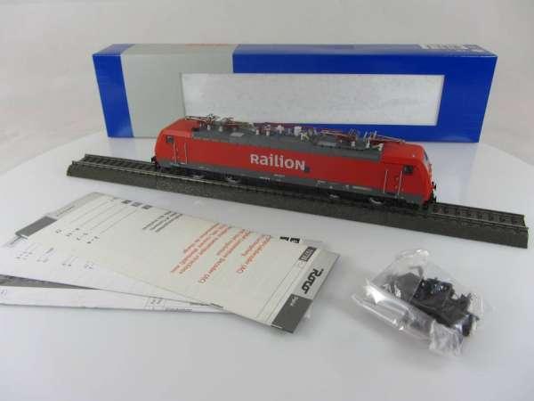 ROCO 69663 Elektrolokomotive 189 040-9 der Railion in rot, Digital, 3-Leiter-Wechselstrom