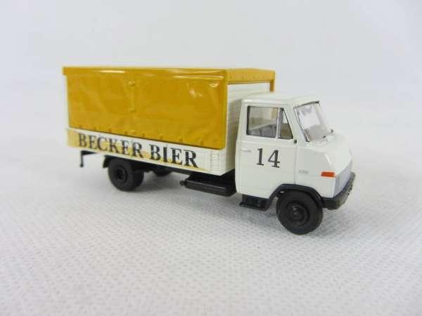 Brekina 1:87 Hanomag Henschel Becker Bier Nr. 14