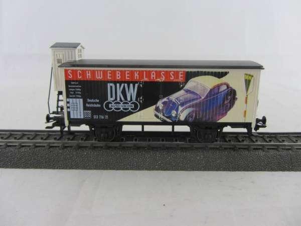 """Basis 4680 G10 mit Bremserhaus """"DKW"""" Nostalgie-Serie, Sondermodell, neuwertig mit Verpackung"""
