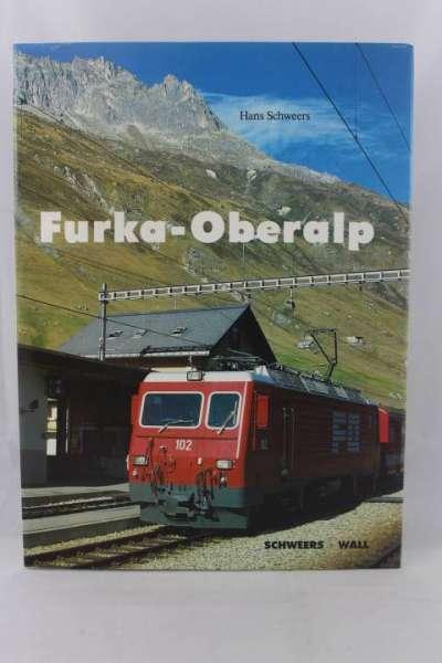 """Eisenbahnbuch """"Furka-Oberalp"""" Schwers + Wall"""