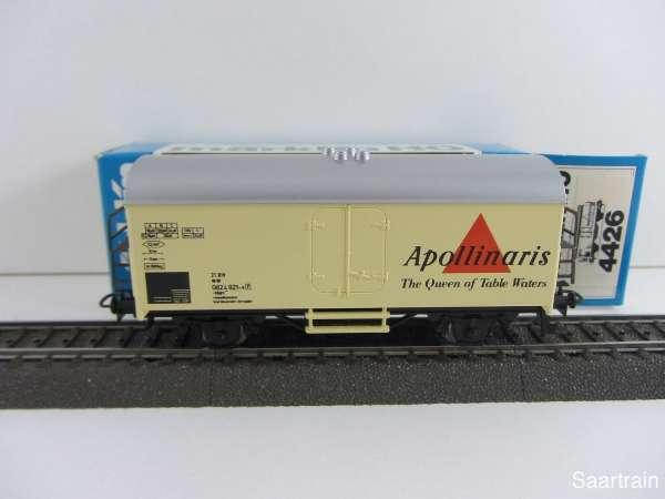 Märklin 4426 Kühlwagen Apollinaris Mineralwasser mit Originalverpackung