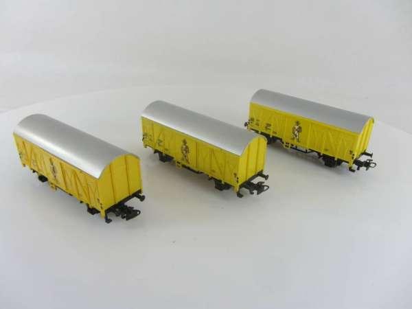 3 Stück Primex 4544 Bananenwagen gelb, gebraucht ohne Verpackung