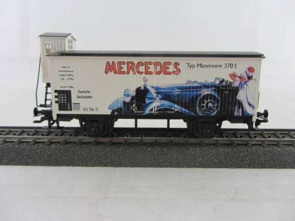 """Basis 4680 G10 mit Bremserhaus """"Mercedes Typ Mannheim"""" Nostalgie-Serie, Sondermodell, neuwertig mit"""