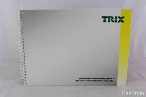 "Trix ""Sortimentskatalog für den Fachhandel 2009/2010"""