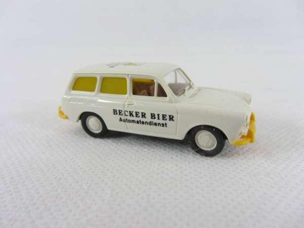 Brekina 1:87 VW Variant 1500 Becker Bier