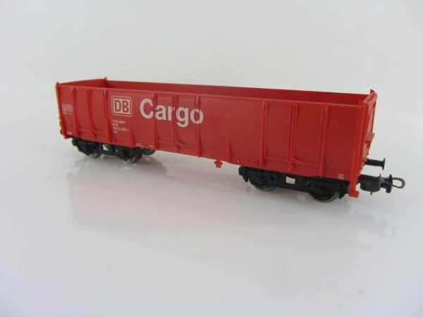 PIKO offener Güterwagen EAS der DB Cargo in rot, guter Zustand ohne Verpackung