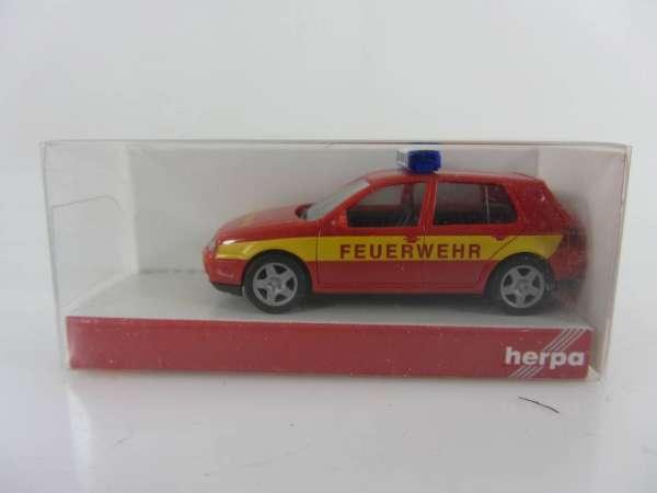 HERPA 48057 1:87 VW Golf 4 Feuerwehr neu mit OVP