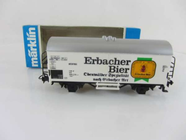 Basis 4415 Bierwagen Erbacher Bier Sondermodell neuwertig und mit Verpackung