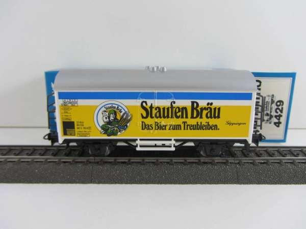 Märklin 4429 Bierwagen Staufenbräu Göppingen neuwertig mit Originalverpackung