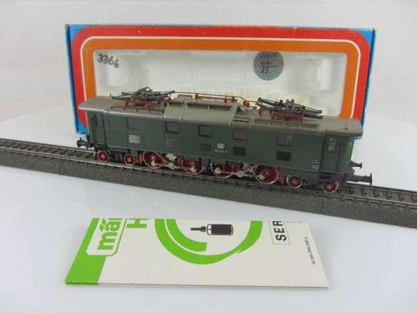 Märklin 3366 Baureihe 152 034 5 der DB in grün guter Zustand und mit OVP