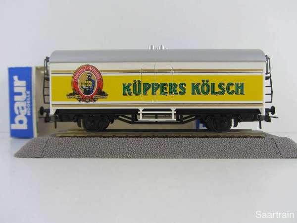 Baur Nr. 190 HO Bierwagen Küppers Kölsch gelb/weiß Neu mit Originalverpackung