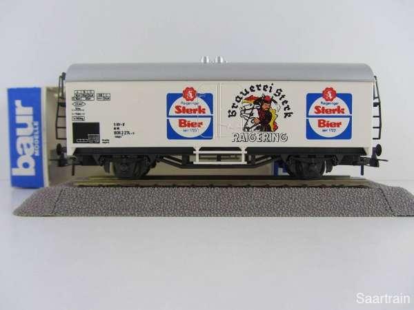 Baur Nr. 150 HO Bierwagen Brauerei Sterk weißgrundig Neu mit Originalverpackung