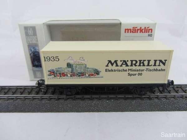 Märklin Basis 4481 Containerwagen 60 Jahre HO Sondermodell 84480 Neu mit OVP