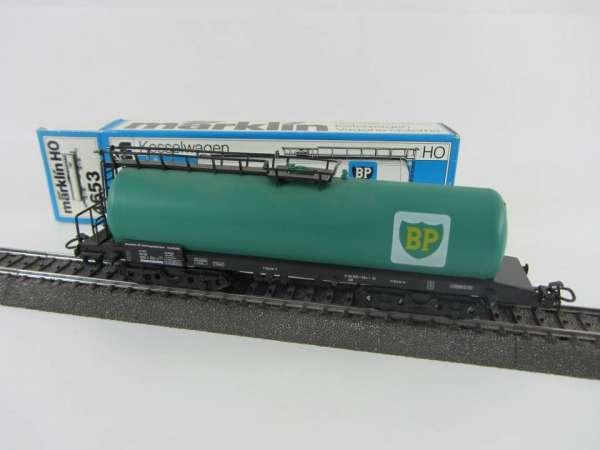Märklin 4652 Kesselwagen BP der DB in grün, sehr gut und originalverpackt