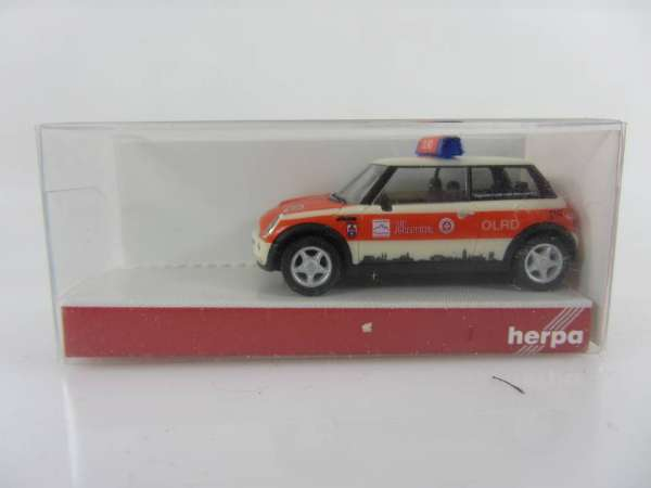 HERPA 48101 1:87 Mini Cooper Johanniter neu mit OVP